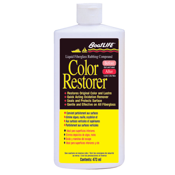 BoatLIFE Fiberglass Rubbing Compound  Color Restorer - 16oz [1116]