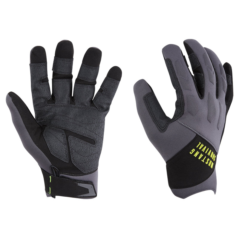 Mustang EP 3250 Full Finger Gloves - Medium - Grey/Black [MA6005/02-M-262]