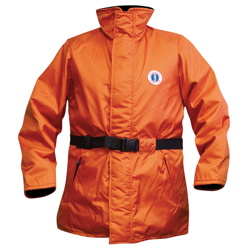 Mustang Classic Flotation Coat - XX-Large - Orange [MC1506-XXL-02]