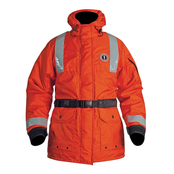Mustang ThermoSystem Plus Flotation Coat - Orange - Small [MC1536-S-02]