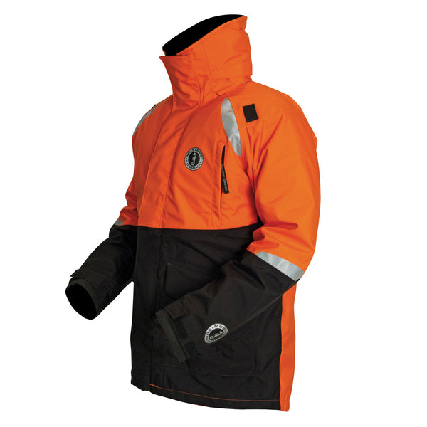 Mustang Catalyst Flotation Coat - XXX-Large - Orange/Black [MC5446-XXXL-33]