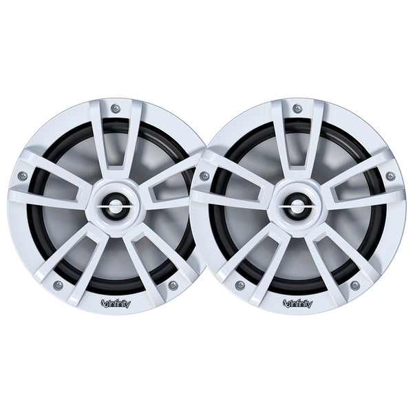 "Infinity 822MLW 8"" 2-Way Multi-Element Marine RGB Speaker - White *BULK PACKAGED [8MBLW-KIT]"