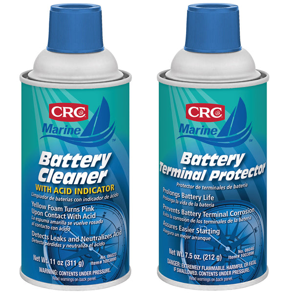 CRC Marine Battery Terminal Cleaner  Protector Bundle [1003890/1003896]