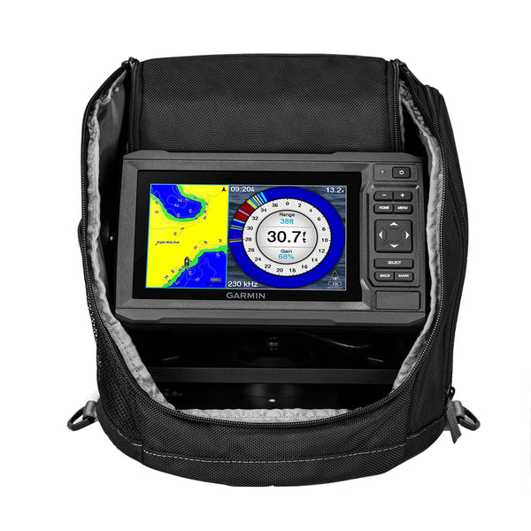 Garmin ECHOMAP UHD 63cv Ice Fishing Bundle w/GT8HW-IF [010-02330-15]