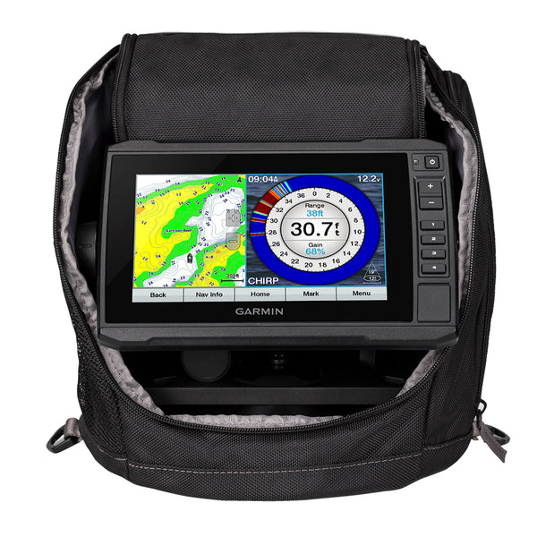 Garmin ECHOMAP UHD 73cv Ice Fishing Bundle w/GT10HN-IF Transducer [010-02334-15]