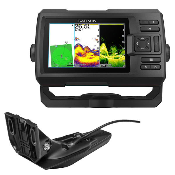 Garmin STRIKER Vivid 5cv Fishfinder w/GT20-TM [010-02551-00]