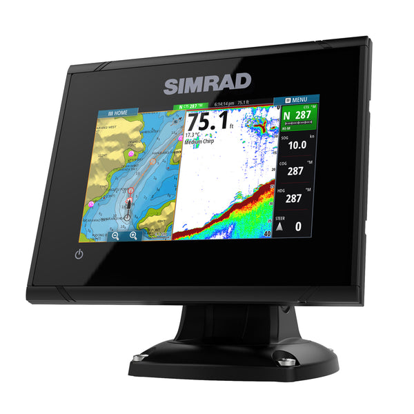 Simrad GO5 XSE Chartplotter/Fishfinder w/C-Map Discover Chart - No Transducer [000-12451-005]
