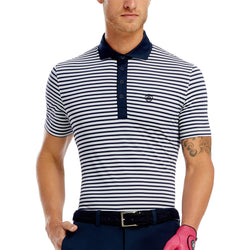 PERF STRIPE BREATHABLE POLO