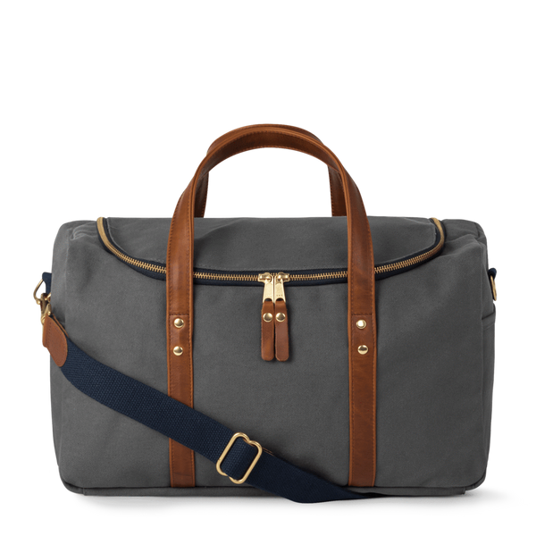 HERITAGE COMMUTER DUFFEL - CHARCOAL GREY