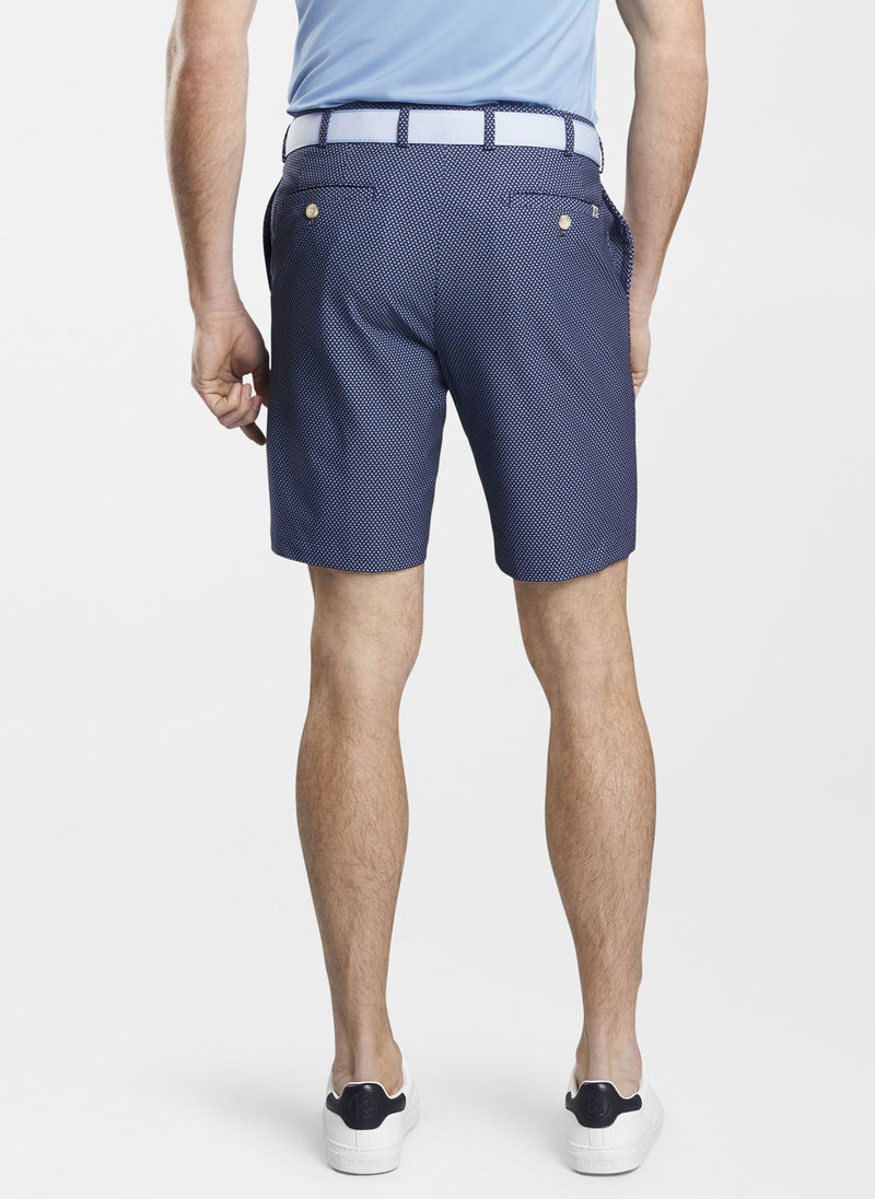 Carrboro Pine Dot Neat Performance Short