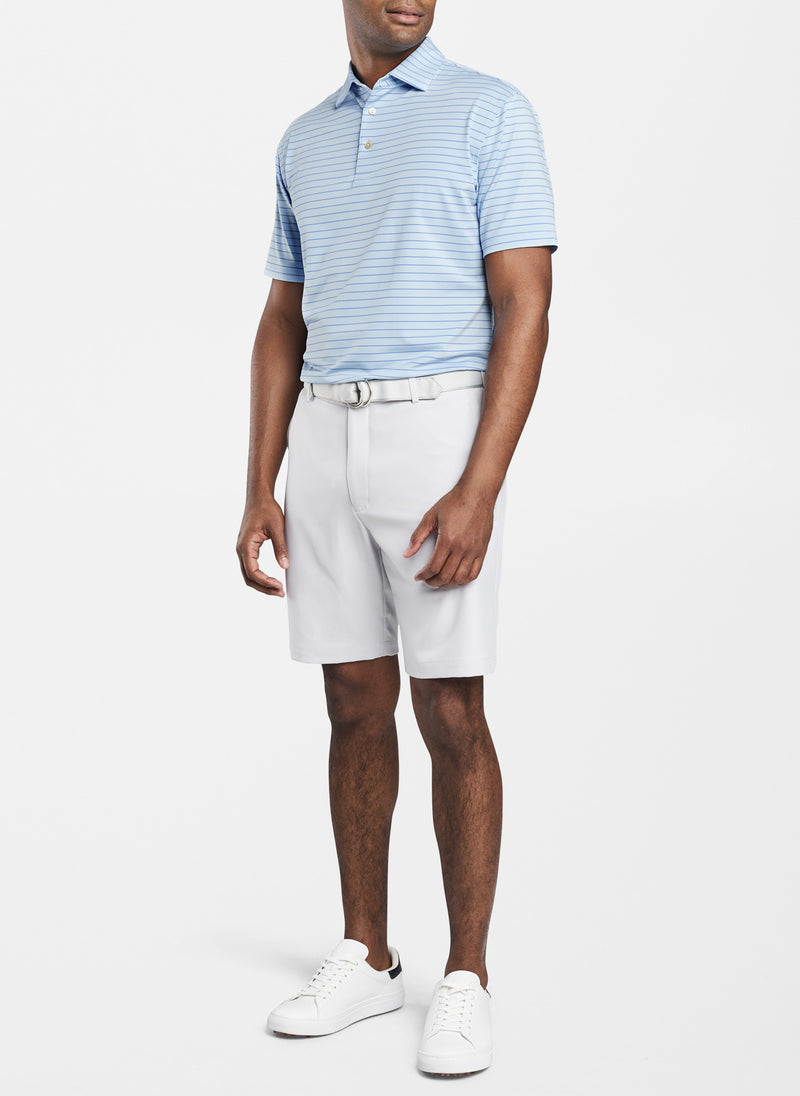 Halifax Stripe Stretch Jersey Polo
