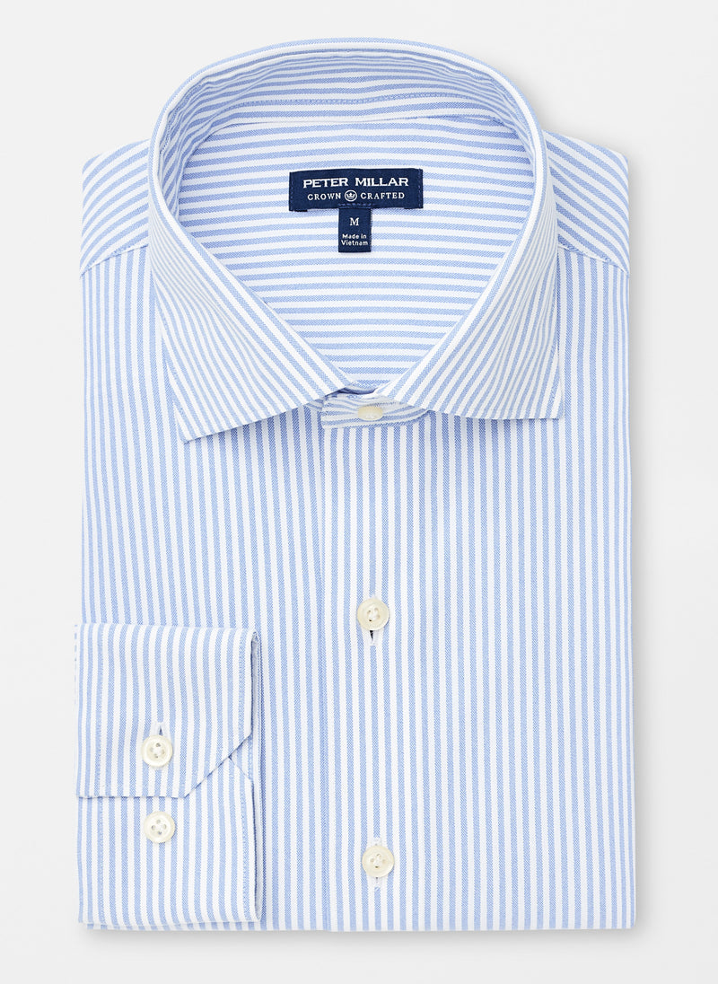Parker Crown Crafted Stripe Oxford Sport Shirt