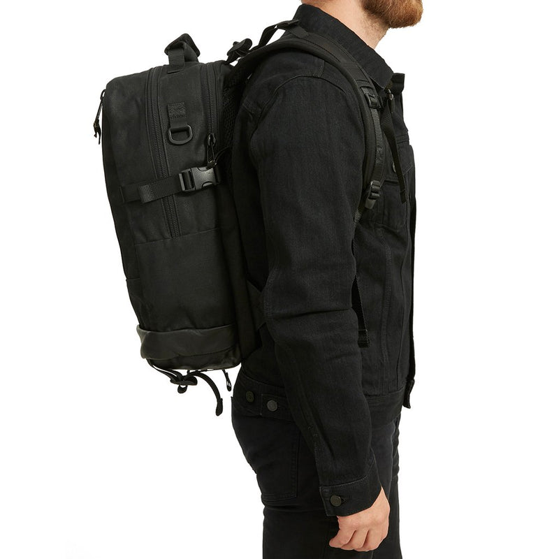 DAYPACK - 3SIXTEEN 2018 SPECIAL EDITION WAXED CANVAS - BLACK