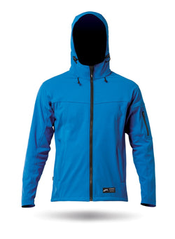 CYAN NYMARA HOODED JACKET