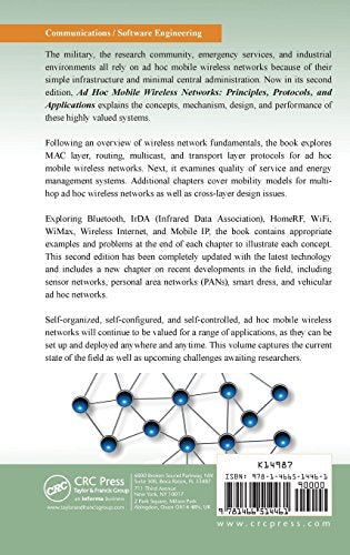 Principles Of Wireless Networks Book