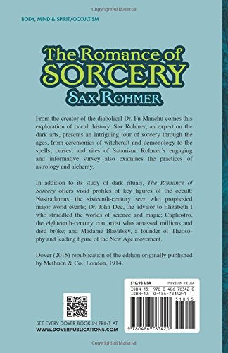 The Romance Of Sorcery (Dover Books On The Occult)