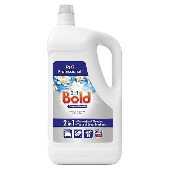 Bold Professional Liquid Detergent Lotus Flower & Water Lily 100 Washes 5L