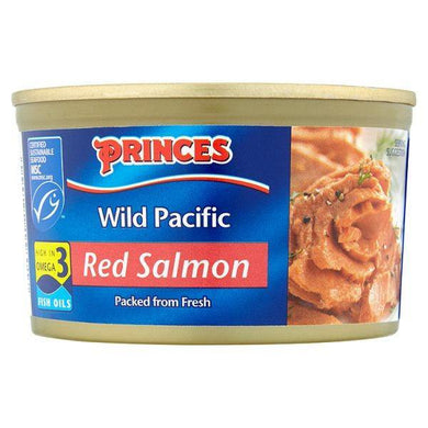 Wild Pacific Red Salmon 213g Princes - o-mercadin