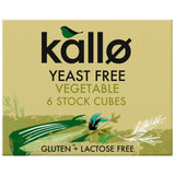 Yeast free vegetable stock cubes - Kallo