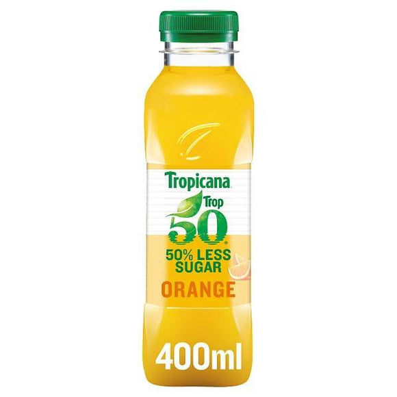 Tropicana Trop50 Orange Juice 400ml