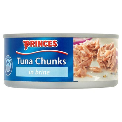 Tuna Chunks in Brine 160g Princes - o-mercadin