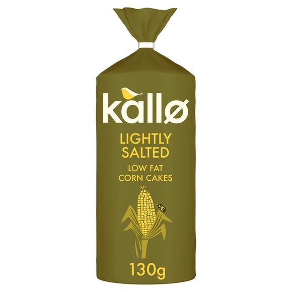 Kallo Lightly Salted Low Fat Corn Cakes