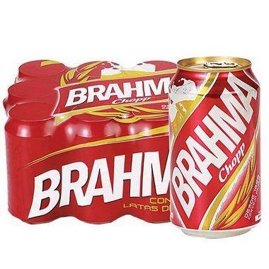 Multipack of CERVEJA BRAHMA LATA 12 x 350ml - o-mercadin