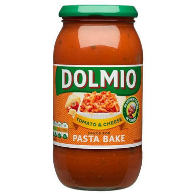 Dolmio Pasta Bake Tomato and Cheese Pasta Sauce 500g - o-mercadin