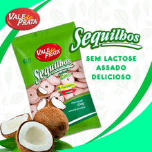 Load image into Gallery viewer, Sequilhos de Coco 350g - Vale do Prata - o-mercadin