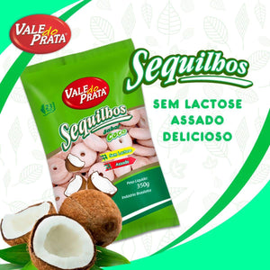Sequilhos de Coco 350g - Vale do Prata - o-mercadin