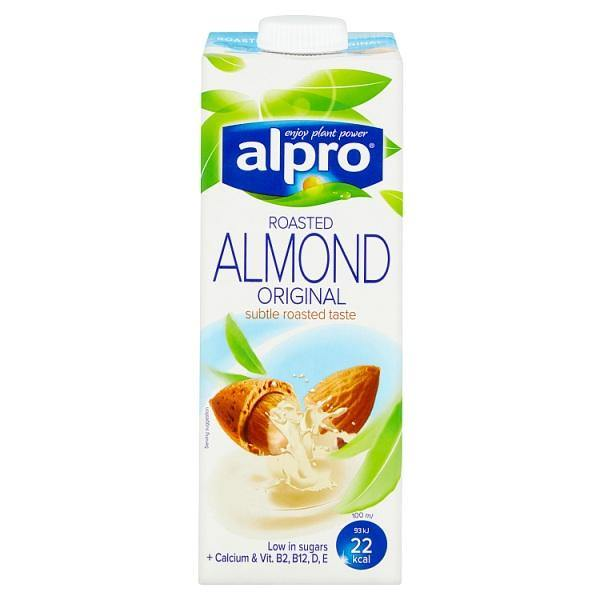 Alpro Roasted Almond Original U.H.T. 1L - o-mercadin