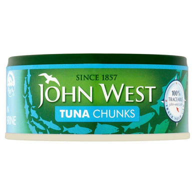 Atum / Tuna Chunks in Brine 145g - John West - o-mercadin