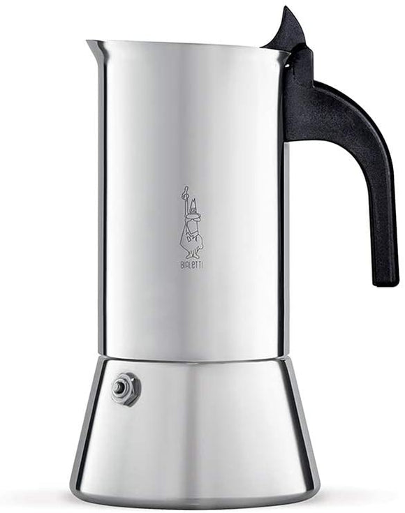 A - Venus Induction 'R' Stovetop Coffee Maker (6 Cup) - Bialetti