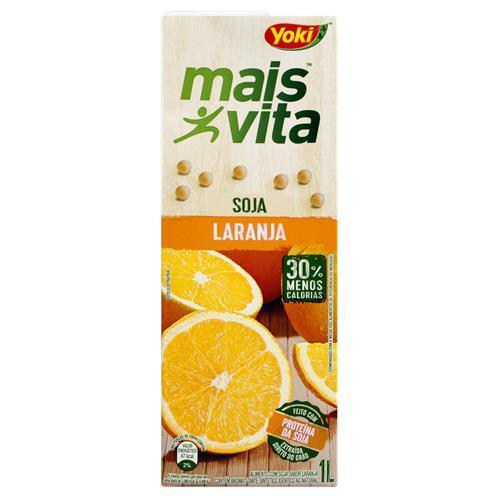 Soybean Drink Orange 1L | Suco de laranja , Soja - MAIS VITA