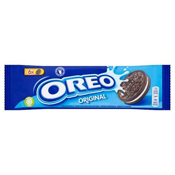 Oreo Original Sandwich Biscuit Snack Pack 66g - o-mercadin