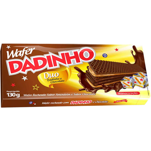 Wafer chocolate Duo 130g - DADINHO