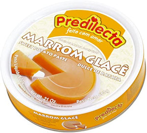 Sweet Potato  Paste Canned / Marrom Glace LATA 600g - PREDILECTA