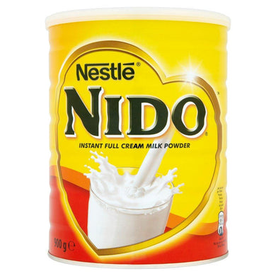 NIDO INSTANT FULL CREAM MILK POWDER 900g - NESTLE - o-mercadin