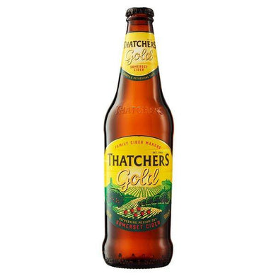 Multipack of Thatchers Gold Cider NRB 6 x 500ml
