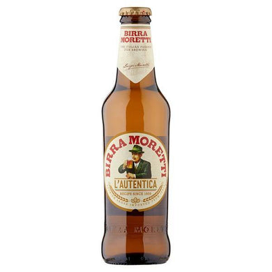 Birra Moretti Lager Beer Bottle 330ml - O Mercadin