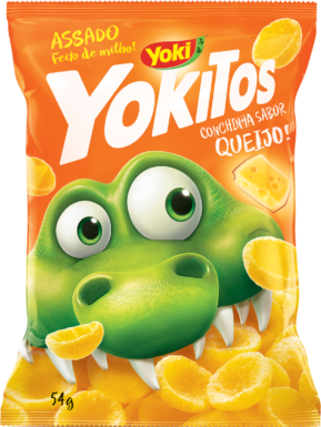 YOKITOS QUEIJO / YOKITOS CHEESE SHELL SHAPED 54G YOKI