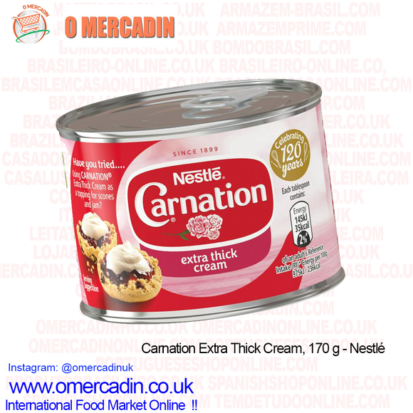 Carnation Extra Thick Cream, 170 g - Nestlé
