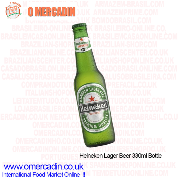 Heineken Lager Beer 330ml Bottle