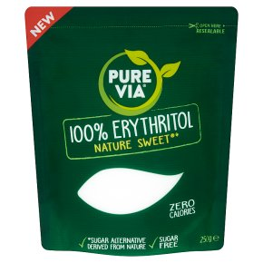 Pure Via 100% Erythritol Sugar Alternative250g