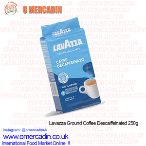 Lavazza Ground Coffee Descaiffeinated 250g - O Mercadin