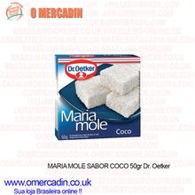 Load image into Gallery viewer, Maria Mole Sabor Coco 50g - Dr Oetker - o-mercadin
