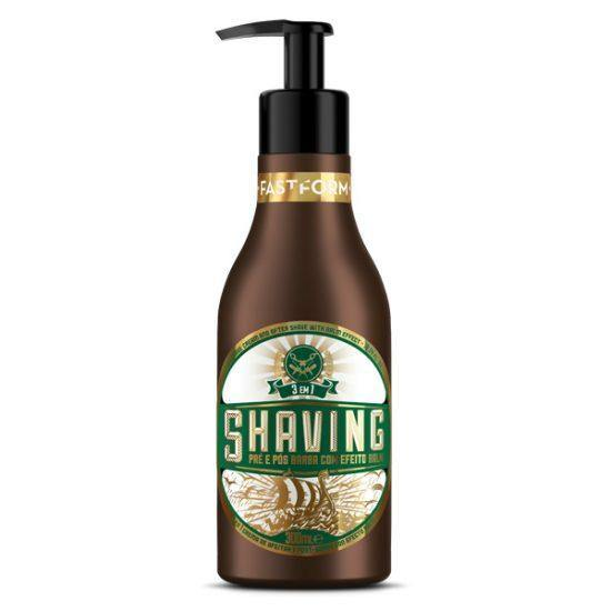 Shaving 3 in 1 Shave Cream and After Shave with Balm Effect  300ml  FAST FORM - o-mercadin