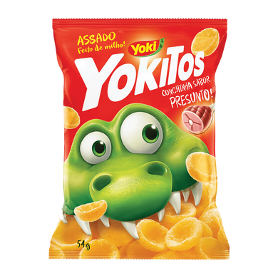 YOKITOS PRESUNTO / YOKITOS HAM SHELL SHAPED 54G YOKI - O Mercadin
