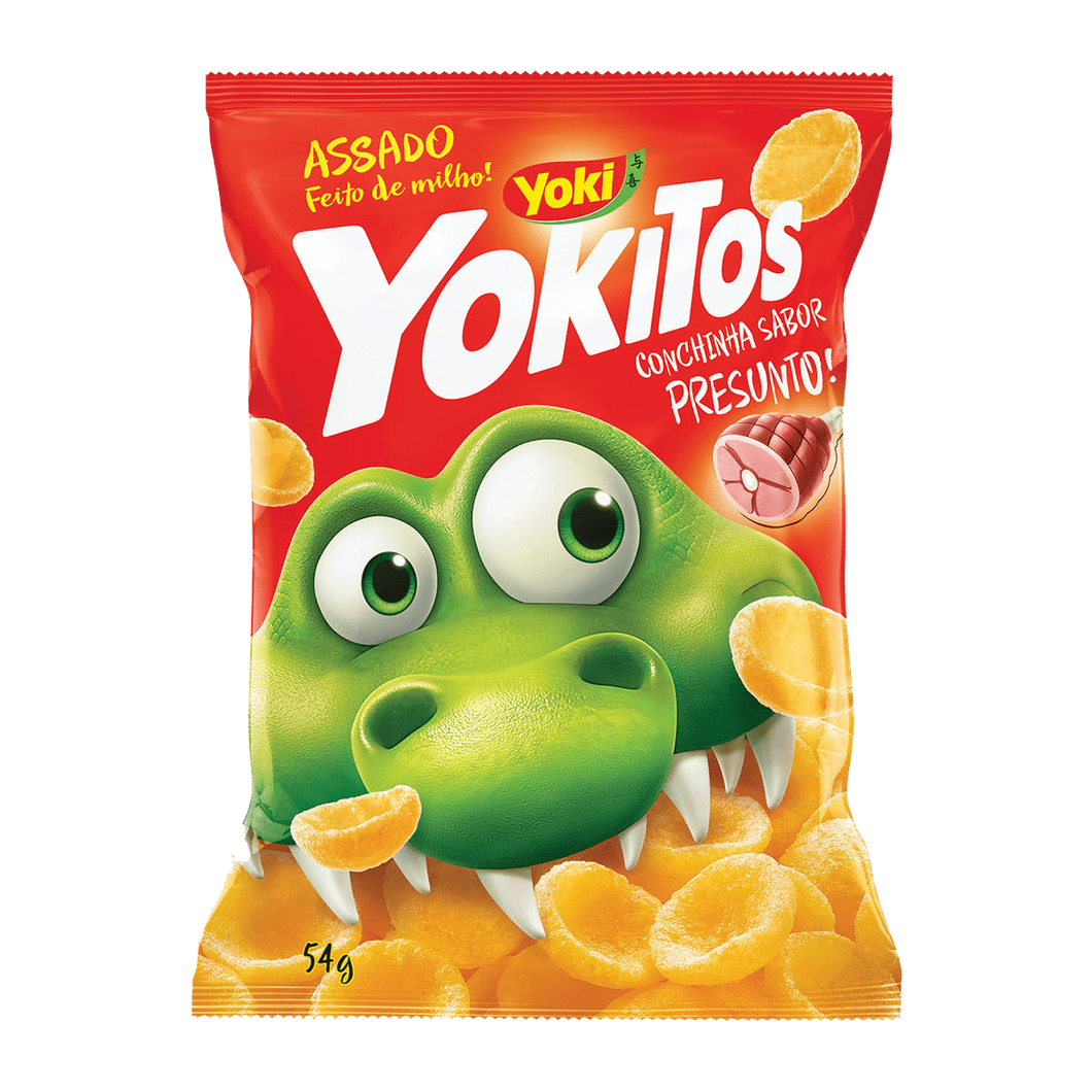 YOKITOS PRESUNTO / YOKITOS HAM SHELL SHAPED 54G YOKI - o-mercadin