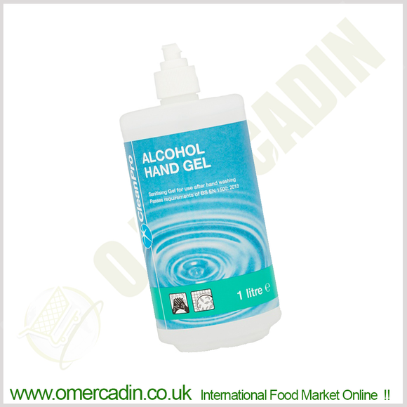 Clean Pro Alcohol Hand Gel 1 Litre ( limited three per order ) - O Mercadin